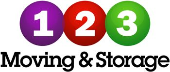 123 Moving and Storage Logo