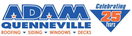 Adam Quenneville Roofing & Siding, Inc. Logo