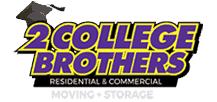 2 College Brothers Moving and Storage  Logo