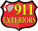 911 Exteriors Roofing & Fence Logo