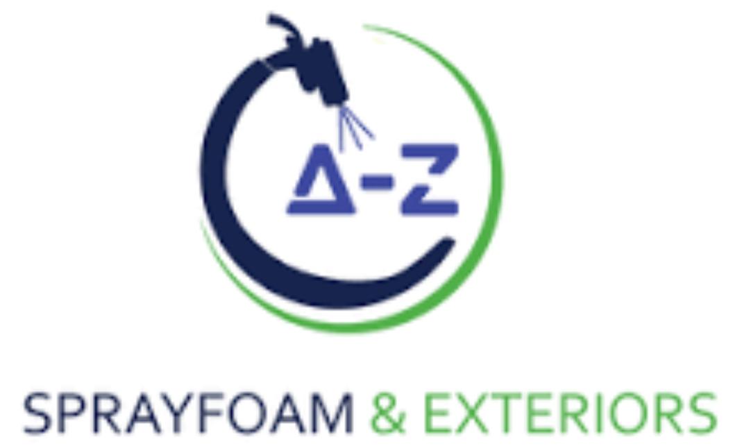 A-Z Spray Foam & Exteriors Logo