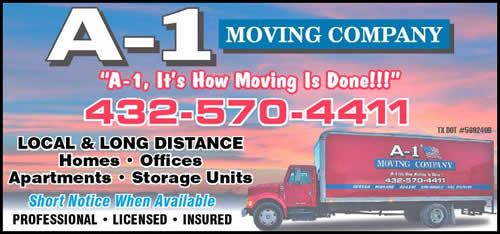 A-1 Moving Company Logo