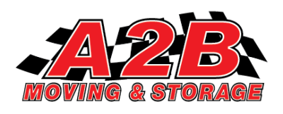 A 2 B Moving And Delivery Logo