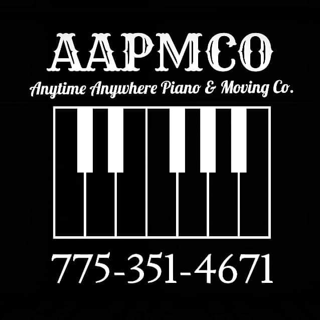 Anytime Anywhere Piano & Moving Co. Logo