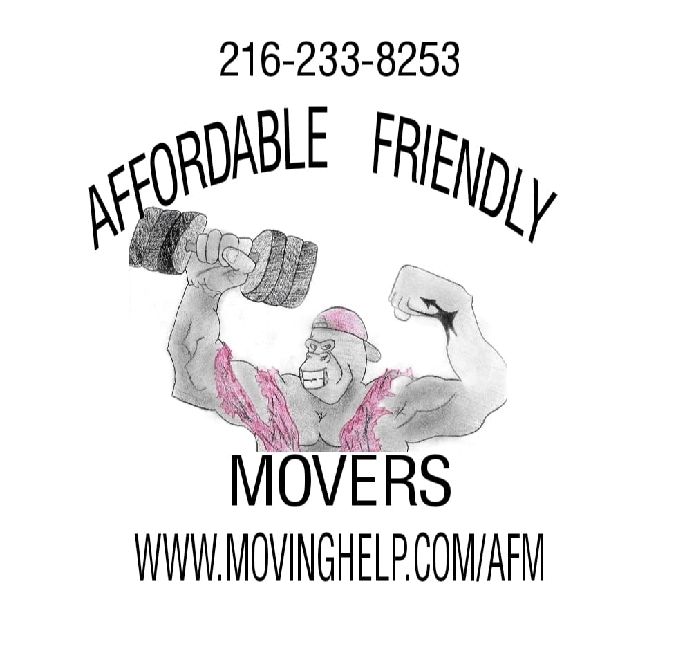 Affordable Friendly Movers Logo