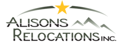 Alison's Relocations Inc Logo