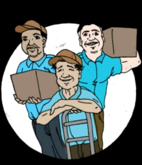 All In A Day Moving Services Logo