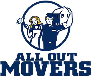 All Out Movers, LLC Logo
