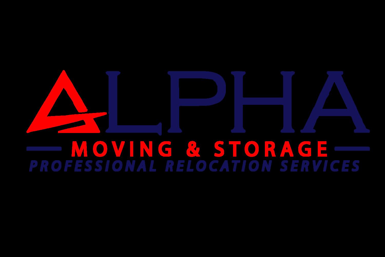 Alpha Moving & Storage LLC Logo