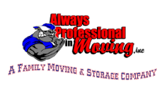 Always Professional In Moving, Inc. Logo