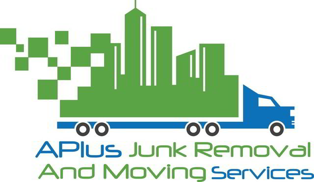 A Plus Junk Removal and Moving Services Logo