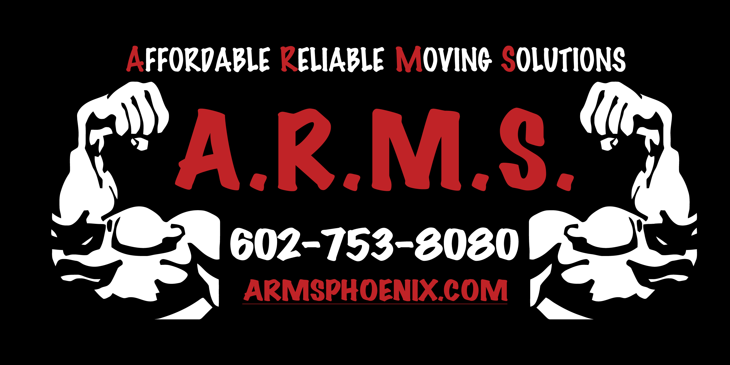 ARMS-Affordable Reliable Moving Solutions Logo
