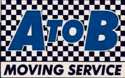 A to B Moving Service Logo