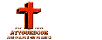 AtYourDoor Junk Hauling & Moving Service Logo