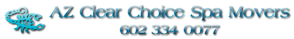 AZ Clear Choice Spa Movers Logo