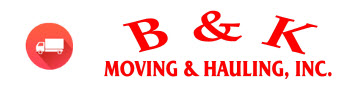 B & K Moving, Inc. Logo