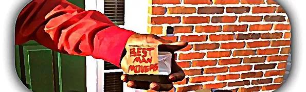 Best Man Movers Logo