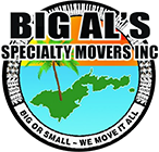Big Al's Specialty Movers Logo