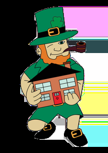 Big Leprechaun Moving & Storage Logo
