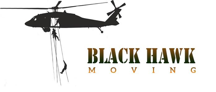 Black Hawk Moving Logo