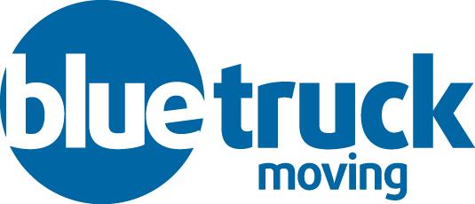 Blue Truck Moving Logo