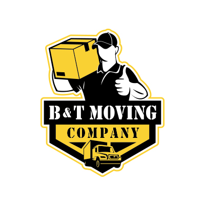 B&T Moving Company Logo