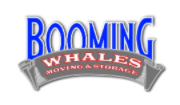 Booming Whales Moving & Storage Logo