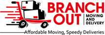 Branch Out Moving and Delivery Logo