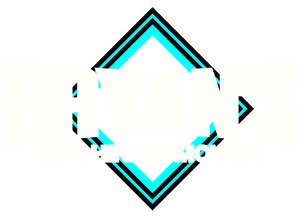 Bryan's Machinery Moving Logo
