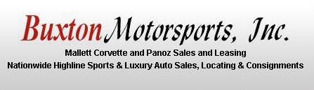 Buxton Motorsports, Inc. Logo