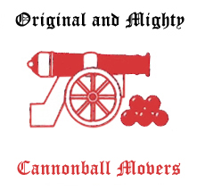Cannonball Hot Tub Movers Logo