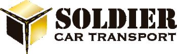 Soldier Car Transport Logo