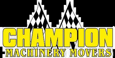 Champion Machinery Movers Logo