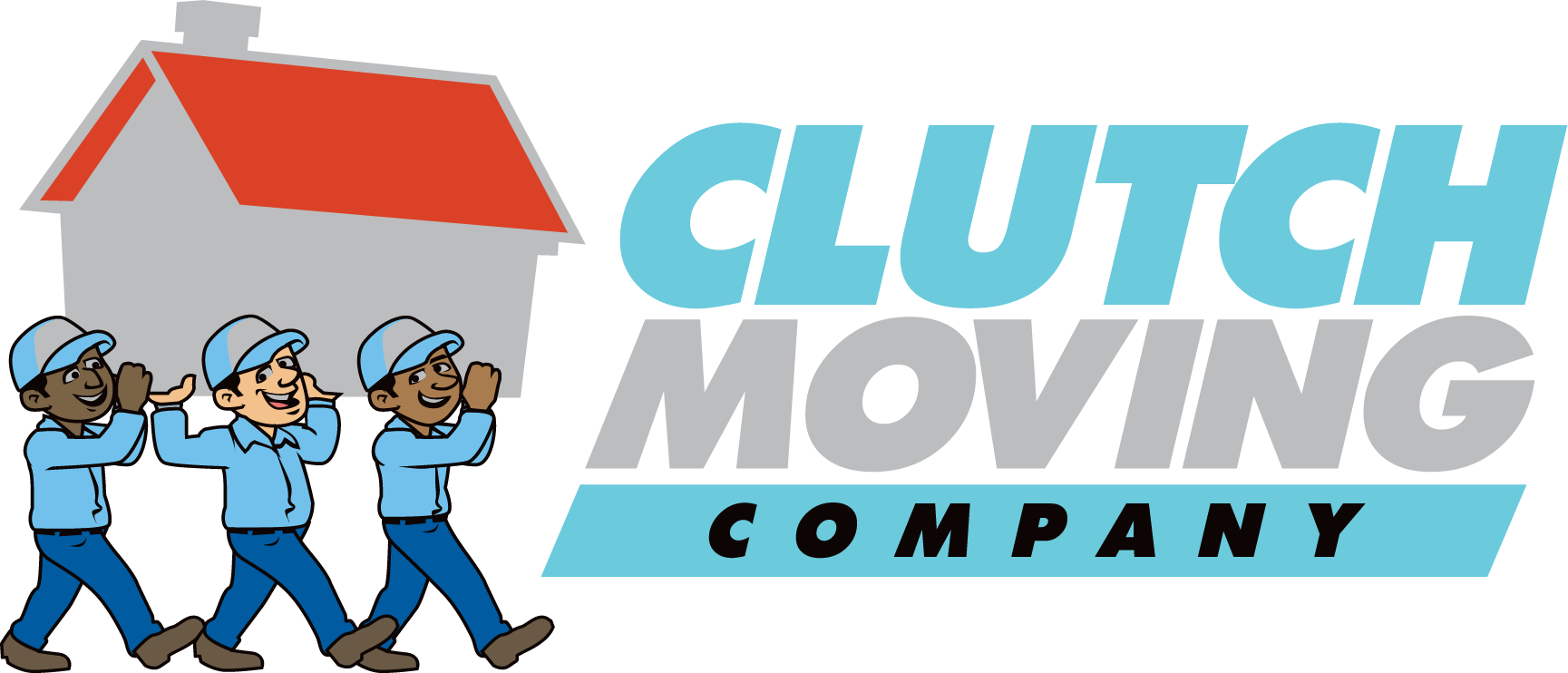Clutch Moving Company Logo