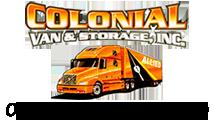 Colonial Van & Storage - Fresno Logo