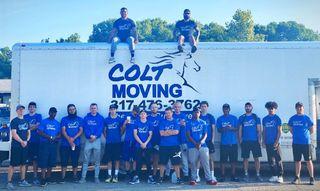 Colt Moving Logo