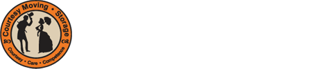 Courtesy Moving & Storage Logo