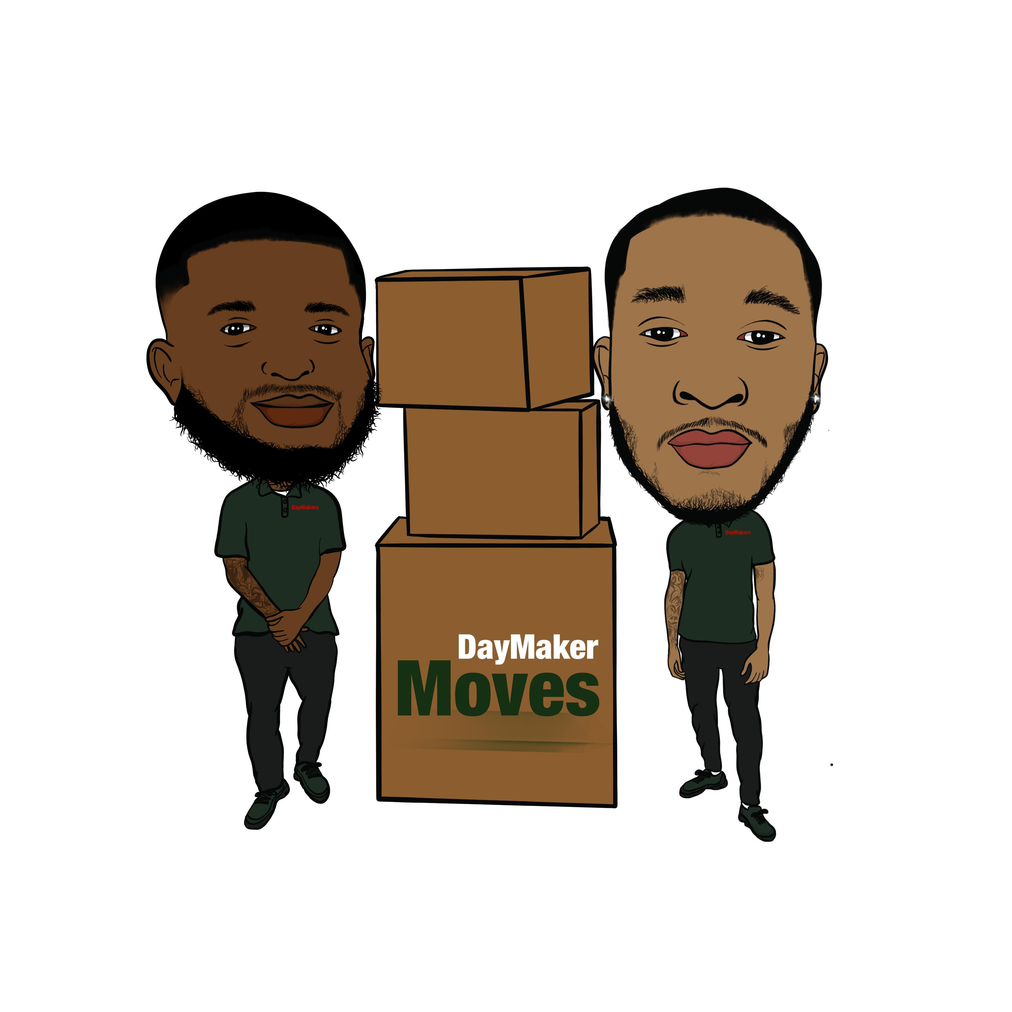 DayMakerMoves LLC. Logo