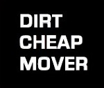 Dirt Cheap Mover Logo