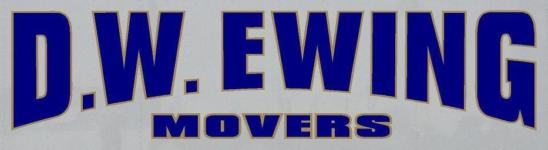 D W Ewing Movers Logo