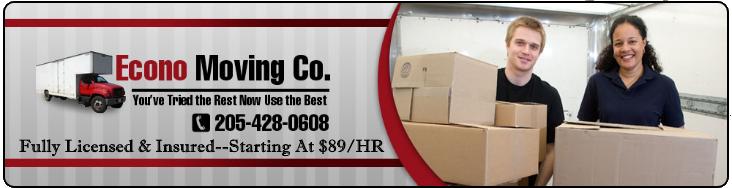 Econo Moving Company Logo