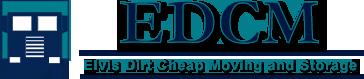 Elvis Dirt Cheap Moving Co Logo