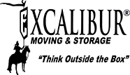 Excalibur Moving Company Los Angeles Logo