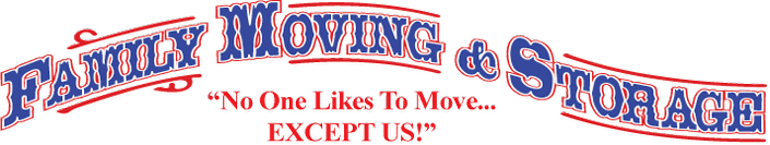 Family Moving And Storage Logo