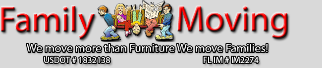 Family Moving LLC - Venice Logo