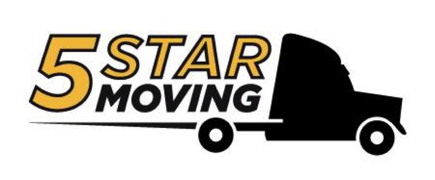 5 star moving Logo