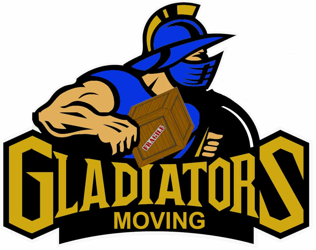 Gladiators Moving Inc.  Logo