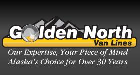 Golden North Van Lines Logo