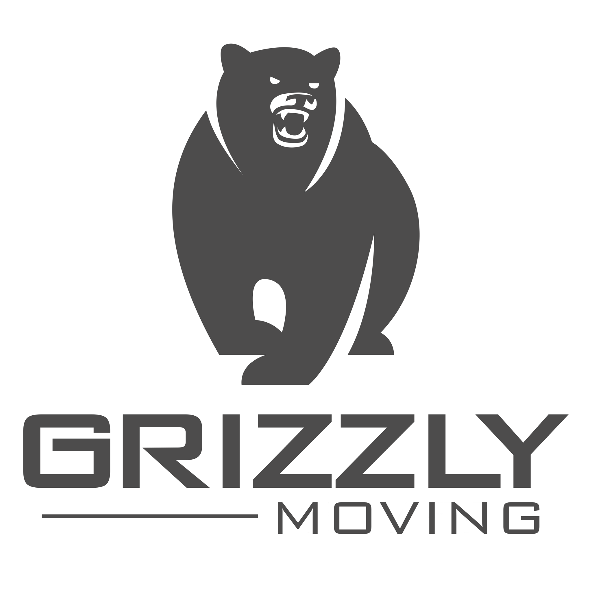 Grizzly Moving  Logo