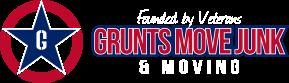 Grunts Move Junk & Moving Logo